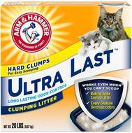 Комкующийся наполнитель для котов и кошек ультра стойкий ARM & HAMMER™ Ultra Last™ Clumping Litter