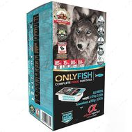 Мультипротеиновый полувлажный корм на основе свежей рыбы для собак на всех стадиях жизни AS Semi-moist ONLY FISH