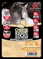 Полувлажные лакомства для собак с сыром и йогуртом DOG Sticks Cheese&Yogurt