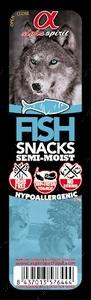 Полувлажные лакомства для собак с рыбой DOG Snacks Fish