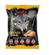 Полувлажные лакомства для собак с курицей ALPHA SPIRIT DOG Snacks Chicken