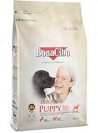Сухой корм для щенков всех пород с мясом курицы, анчоусами и рисом BonaCibo Puppy High Energy