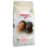 Сухой корм для взрослых активных собак всех пород с курицей BonaCibo Adult Dog High Energy Chicken&Rice with Anchovy