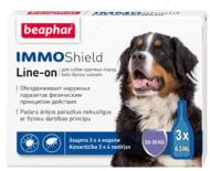 """Капли от блох, клещей и комаров для собак """"IMMO Shield Line-on"""""""
