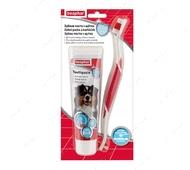 Зубная паста для собак и кошек + щетка