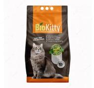 Комкующийся наполнитель туалетов для кошек Super Premium White BioKitty