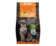 Комкующийся наполнитель туалетов для кошек Super Premium White Marseille BioKitty