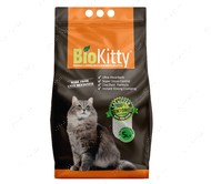 Комкующийся наполнитель туалетов для кошек Super Premium White Aloe Vera BioKitty