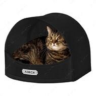 Домик для кошек и собак черный BRONZEDOG