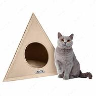 Домик для кошек и собак космос бежевый BRONZEDOG