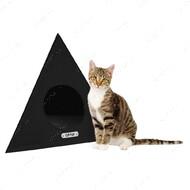 Домик для кошек и собак космос черный BRONZEDOG