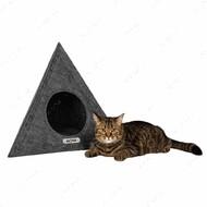 Домик для кошек и собак космос серый BRONZEDOG