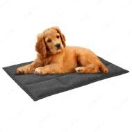 Подстилка для кошек и собак прямоугольная серая BRONZEDOG