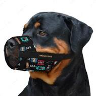 Намордник для собак регулируемый ацтеки BRONZEDOG