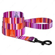 Поводок для собак фиолетовый BRONZEDOG URBAN WEST