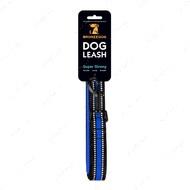 Поводок для собак синий BRONZEDOG MESH 2 В 1