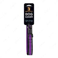 Поводок для собак фиолетовый BRONZEDOG MESH 2 В 1