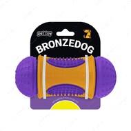 Игрушка для собак фиолетово-оранжевая BRONZEDOG JUMBLE SMART