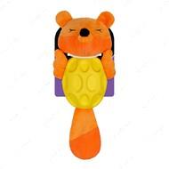 Игрушка для собак лиса мягкая звуковая оранжевая BRONZEDOG JUMBLE