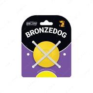 Игрушка для собак мяч желтый BRONZEDOG SUPERBALL