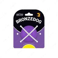 Игрушка для собак мяч фиолетовый BRONZEDOG SUPERBALL