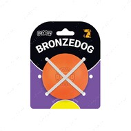 Игрушка для собак мяч оранжевый BRONZEDOG SUPERBALL