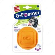 Игрушка для собак мяч оранжевый BRONZEDOG GIGWI FOAMER