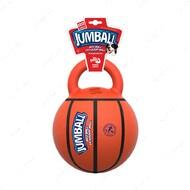 Игрушка для собак баскетбольный мяч с ручкой BRONZEDOG GIGWI JUMBALL