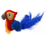 Игрушка для котов попугай с датчиком касания и звуковым чипом BRONZEDOG GIGWI MELODY CHASER