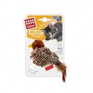 Игрушка для котов птичка с датчиком касания и звуковым чипом BRONZEDOG GIGWI MELODY CHASER