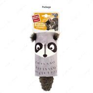 Игрушка для котов енот дразнилка с датчиком касания и звуковым чипом BRONZEDOG GIGWI MELODY CHASER