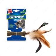 Игрушка для котов с кошачьей мятой и пером BRONZEDOG GIGWI JOHNNY STICK