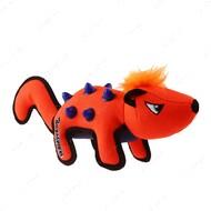 Игрушка для собак скунс с резиновыми вставками оранжевый BRONZEDOG GIGWI DURASPIKES