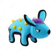 Игрушка для собак скунс с резиновыми вставками голубой BRONZEDOG GIGWI DURASPIKES