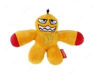 Игрушка для собак гладиатор с пищалкой желтый BRONZEDOG GIGWI GLADIATOR MINI