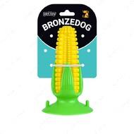 Игрушка для собак кукуруза на присоске с пищалкой BRONZEDOG PETFUN