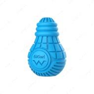 Игрушка для собак резиновая лампочка голубая GIGWI BULB