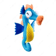 Игрушка для кошек морской конек для чистки зубов GIGWI DENTAL MESH