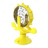 Игрушка-кормушка на присоске для котов желтая PETFUN