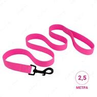 Поводок для собак водоотталкивающий розовый SURF BRONZEDOG
