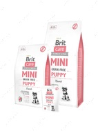 Сухой корм для щенков миниатюрных пород и кормящих сук с мясом ягненка Grain Free Mini Puppy