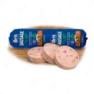 Колбаса для собак с индейкой и горохом Sausage Turkey with Peas