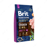 Корм с курицей для собак мелких пород Brit Premium by Nature Adult S