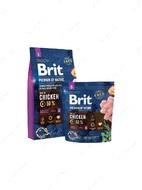 Корм для собак мелких пород с курицей Brit Premium by Nature Adult S
