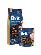 Корм для собак средних пород с курицей Brit Premium by Nature Adult M