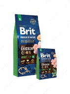 Корм для собак гигантских пород с курицей Brit Premium by Nature Adult XL