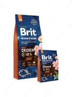 Корм для собак всех пород с высокими затратами энергии с курицей Brit Premium by Nature Sport