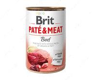 Влажный корм для собак с говядиной Brit Paté & Meat Dog Beef