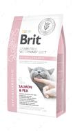 Беззерновая гипоаллергенная диета для котов Brit GF Veterinary Diets Cat Hypoallergenic