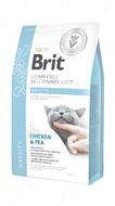 Беззерновая диета для котов при избыточном весе и ожирении Brit GF Veterinary Diets Cat Obesity